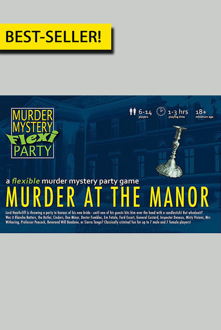 Murder at the Manor Digital Download