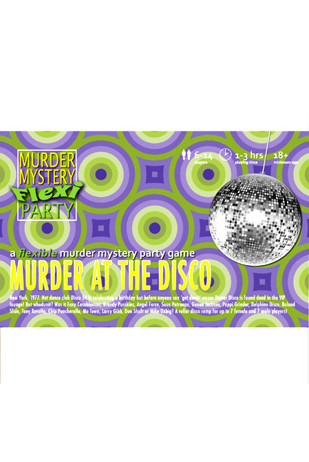 Murder at the Disco Digital Download